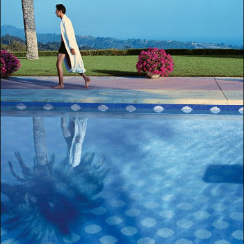 bisazza corfu glass swimming pool design - Swimming Pool Tile Designs
