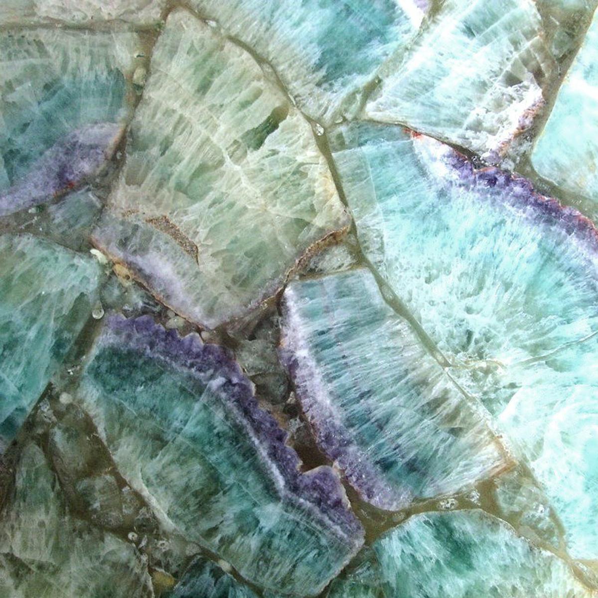 Custom Geode Tiles For Pools Murals Etc.
