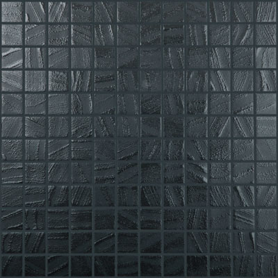 Agape Tile Black Water 951 Vidrepur Art Glass Mosaic