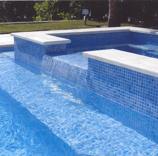 Agape tile bisazza custom pools murals gem tile for Pool mosaic designs