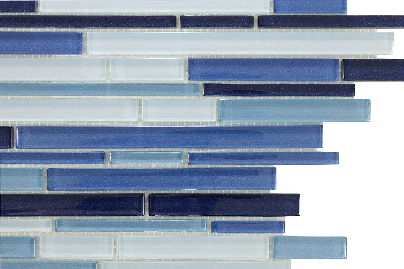 Villi Glass Pencil Mosaic Tiles
