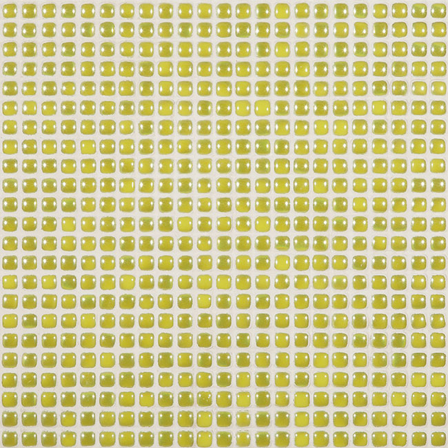 "Pistachio Pearl #454 Vidrepur Glass Mosaic Tile, 12mm - 1/2"", 1 sheet"
