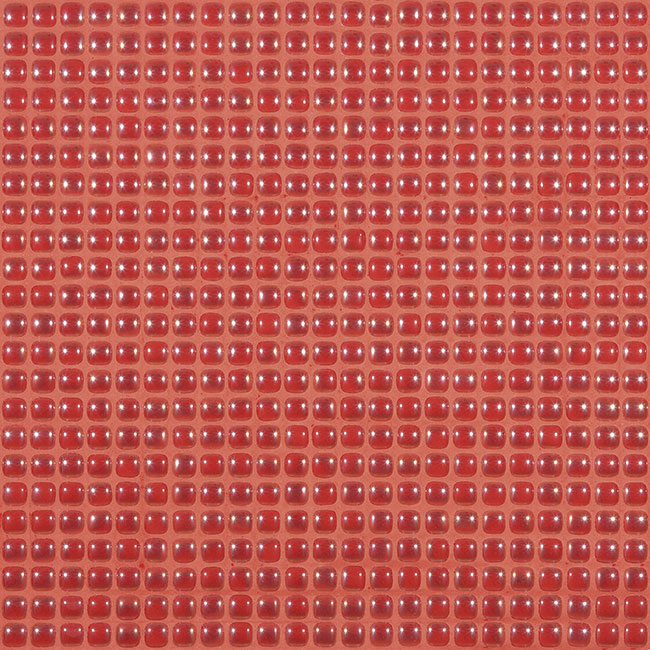 "Flame Coral Pearl #455 Vidrepur Glass Mosaic Tile, 12mm - 1/2"", 1 sheet"