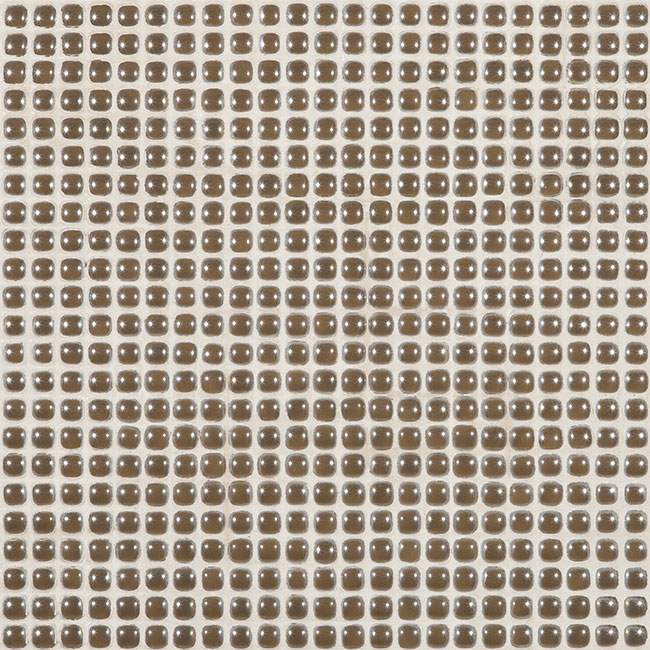 "Chocolate Coffee Pearl #459 Vidrepur Glass Mosaic Tile, 12mm - 1/2"", 1 sheet"
