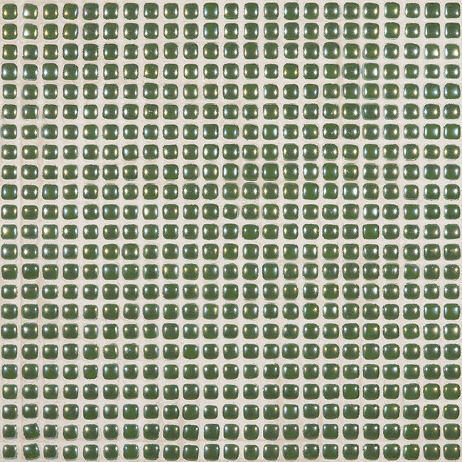 "Green Lime Pearl #460 Vidrepur Glass Mosaic Tile, 12mm - 1/2"", 1 sheet"