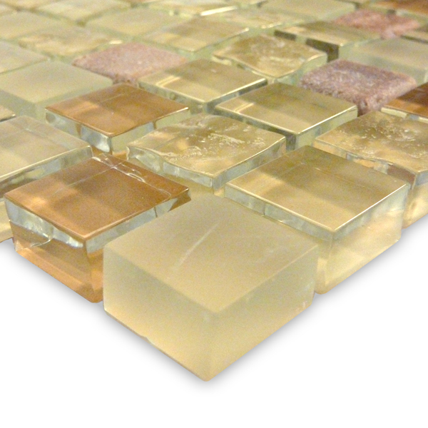 AIM Crystal Series Glass Tile Blends