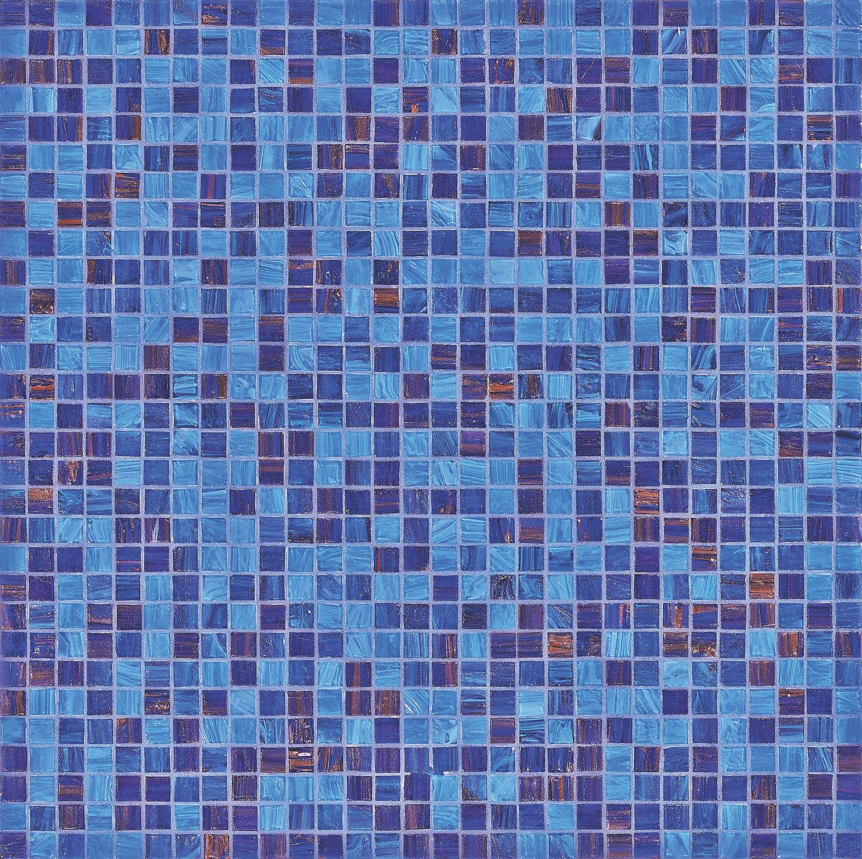Agape Tile - Leila Bisazza Glass Mosaic Tile Blend 10mm - 3/8\
