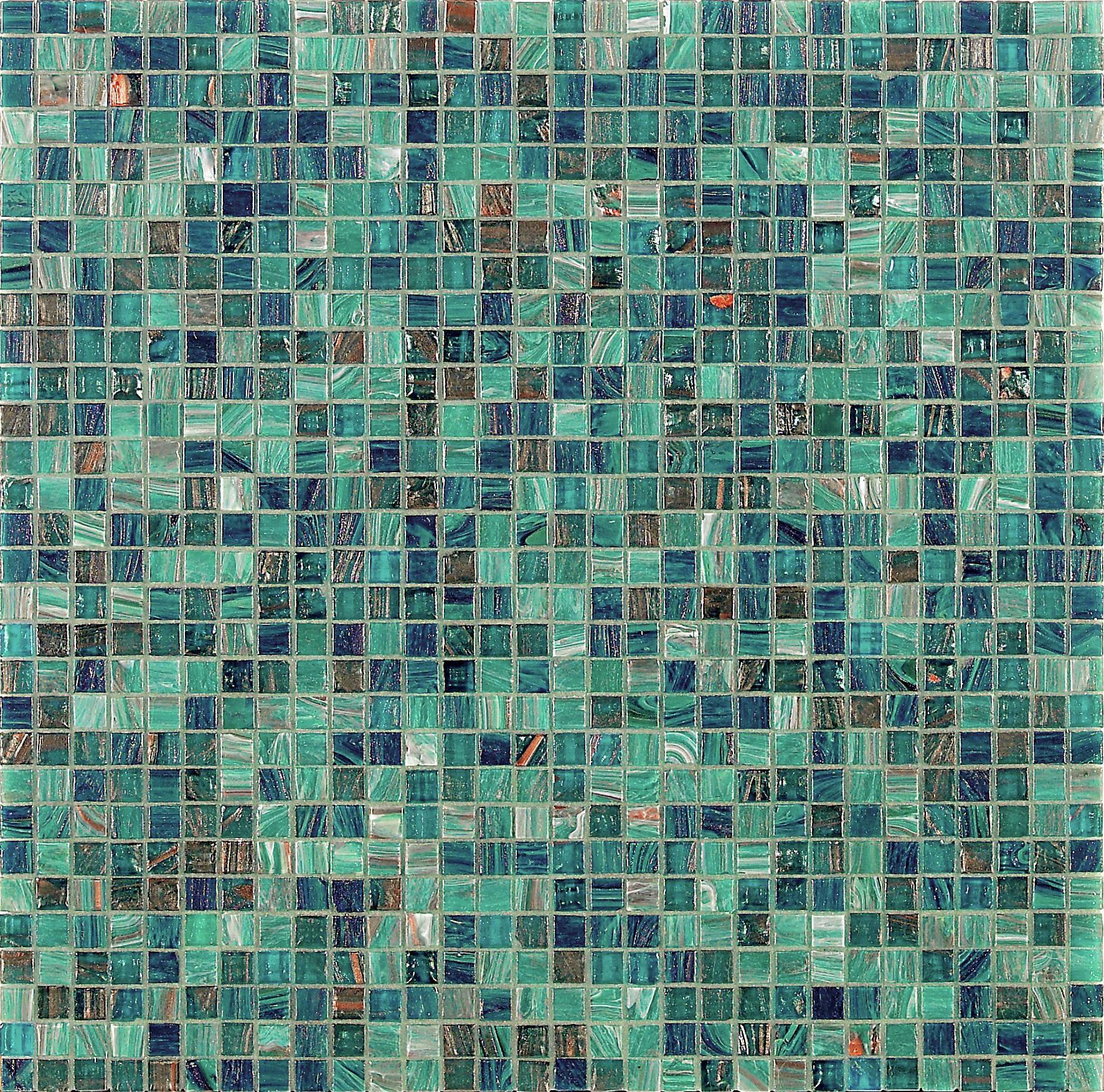 Agape Tile Norma Bisazza Glass Mosaic Tile Blend 10mm