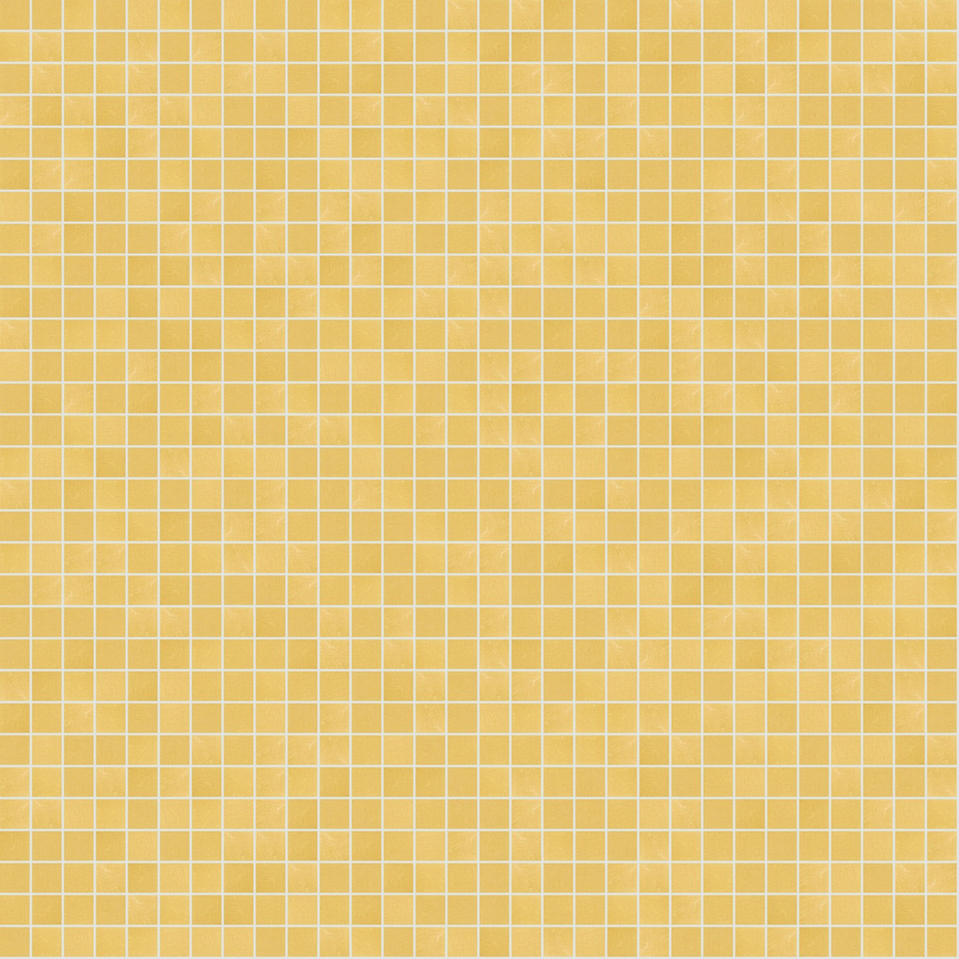 "Yellow Oro 10.2 Smooth Gold Leaf Tile 10mm - 3/8"", 1 sheet"