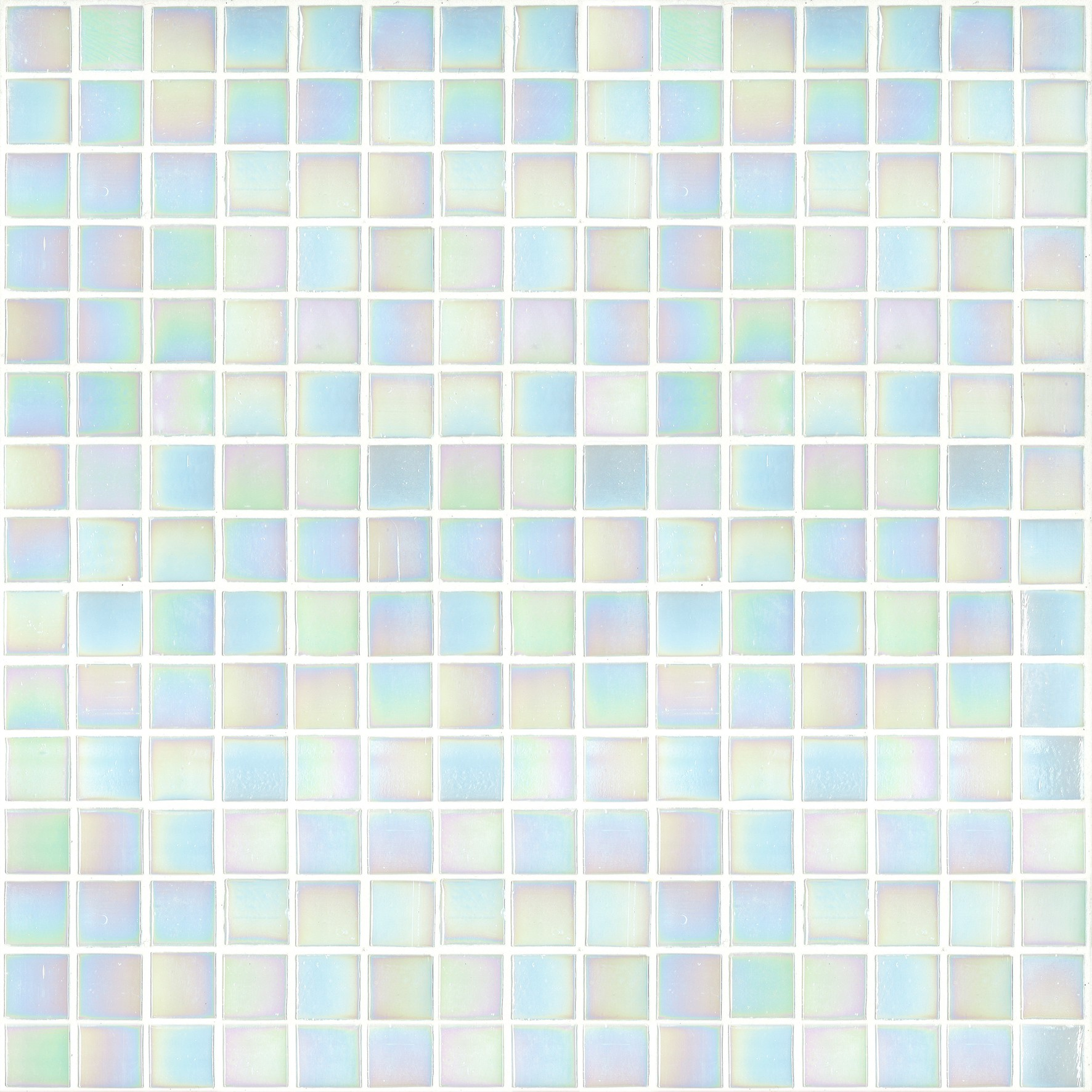"Bisazza Gloss GL 01 Glass Mosaic Tile 20mm - 3/4"", 1 sheet"