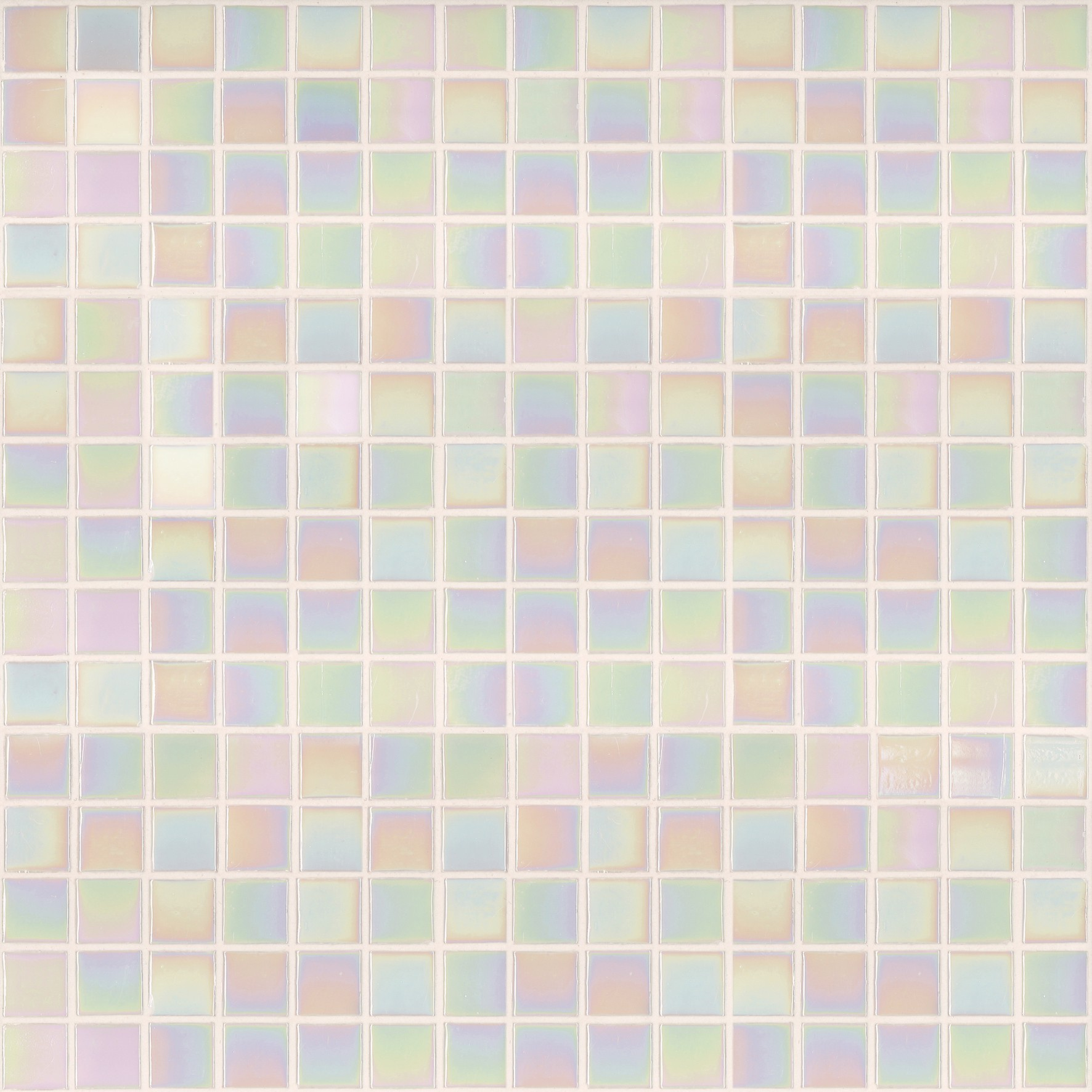 "Bisazza Gloss GL 02 Glass Mosaic Tile 20mm - 3/4"", 1 sheet"