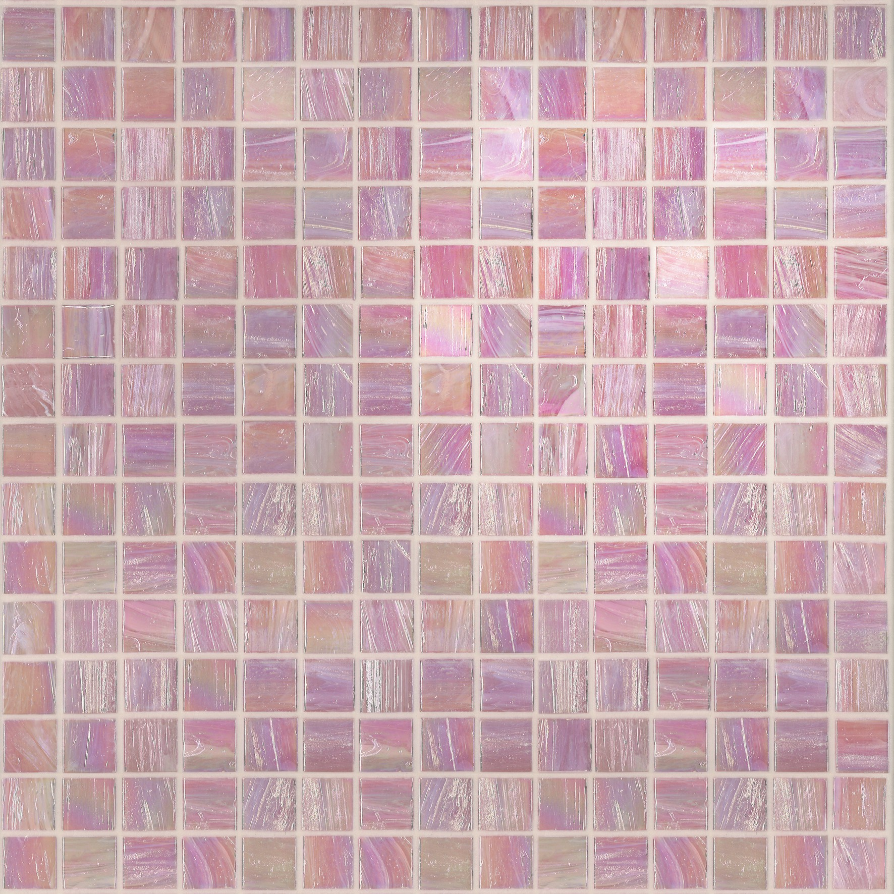 "Bisazza Gloss GL 10 Glass Mosaic Tile 20mm - 3/4"", 1 sheet"