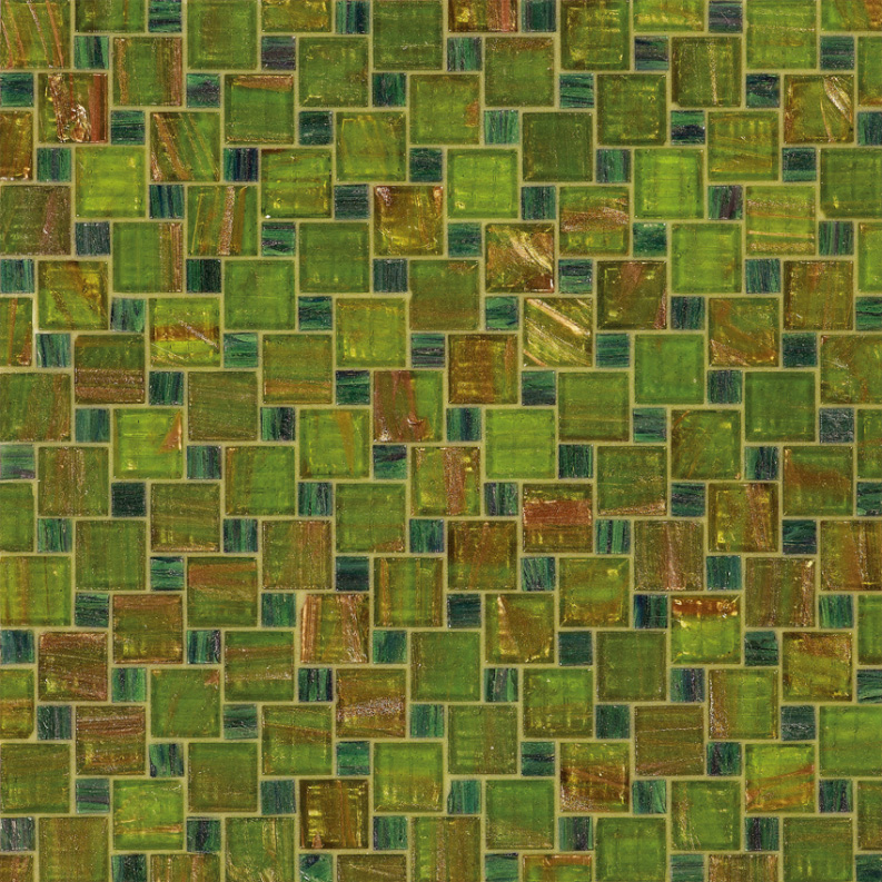 Bisazza Cornelia Variations Blend of Glass Mosaic Tile 10 - 20 mm Combo, 10 sheets