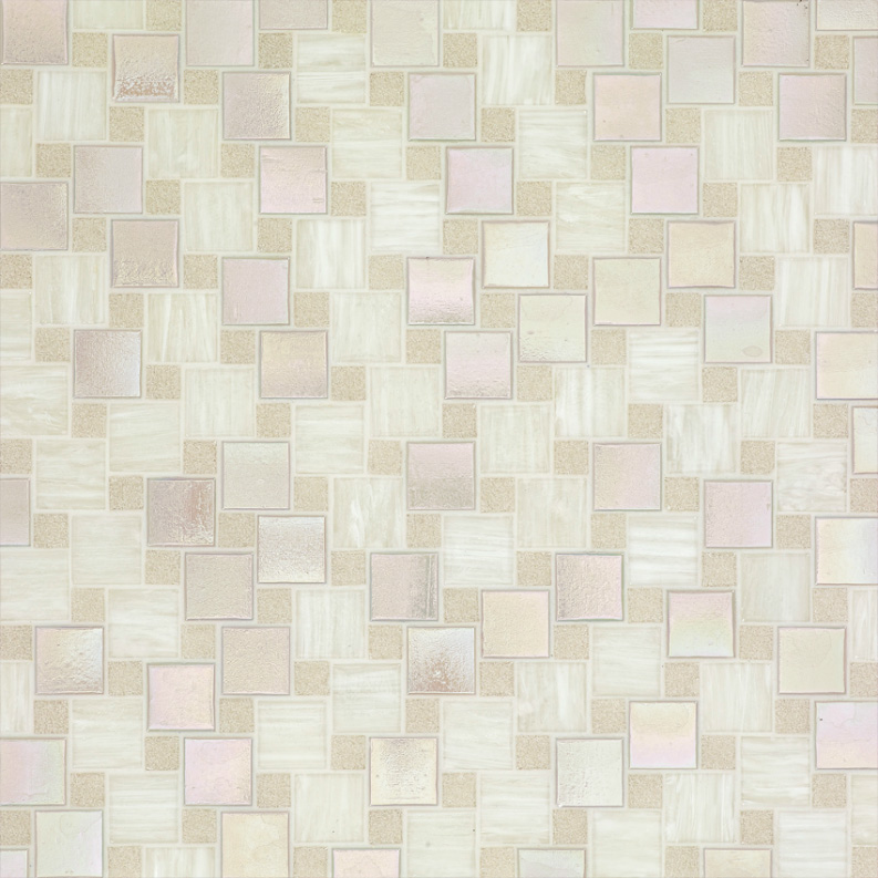 Bisazza Emilia Variations Blend of Glass Mosaic Tile 10 - 20 mm Combo, 10 sheets