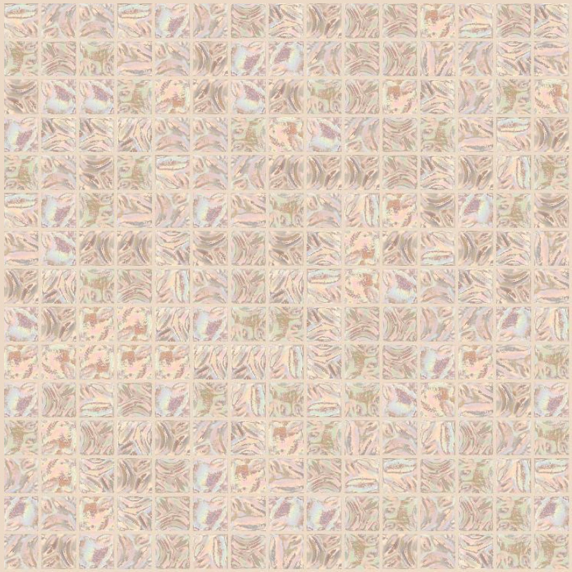"Bisazza GW 02 Glow Glass Mosaic Tile 20mm - 3/4"", 1 sheet"