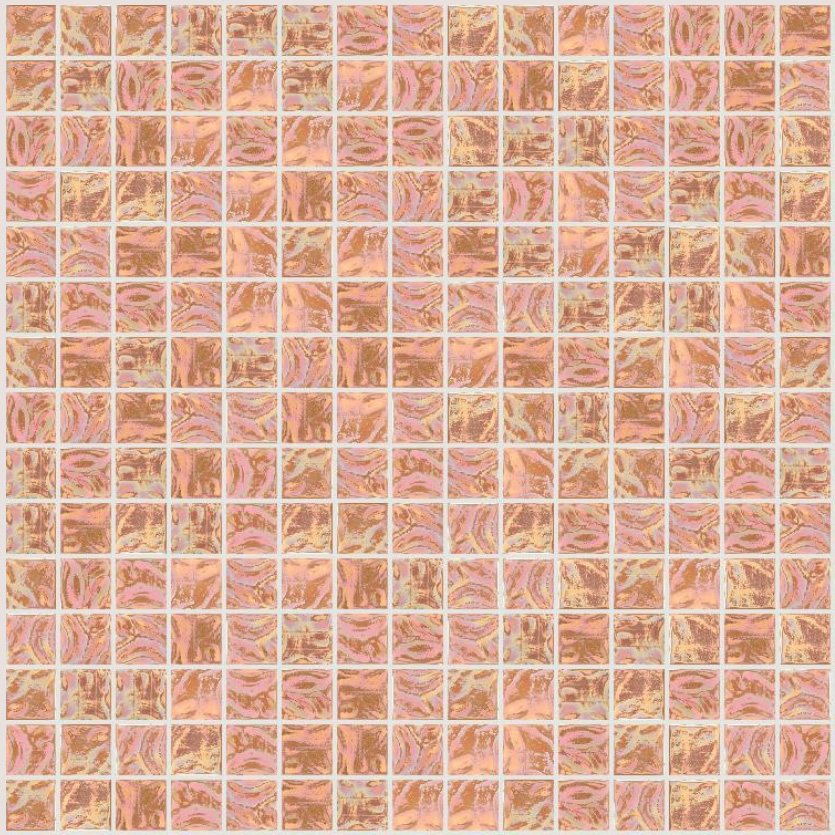 "Bisazza GW 04 Glow Glass Mosaic Tile 20mm - 3/4"", 1 sheet"