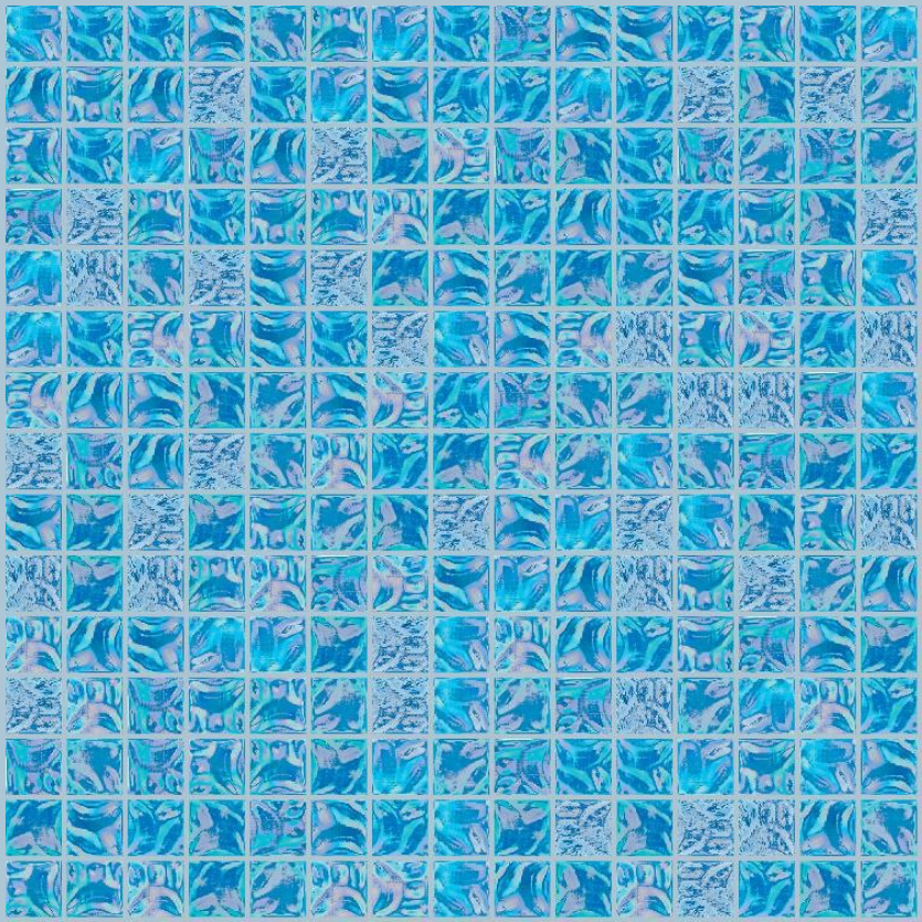 "Bisazza GW 09 Glow Glass Mosaic Tile 20mm - 3/4"", 1 sheet"