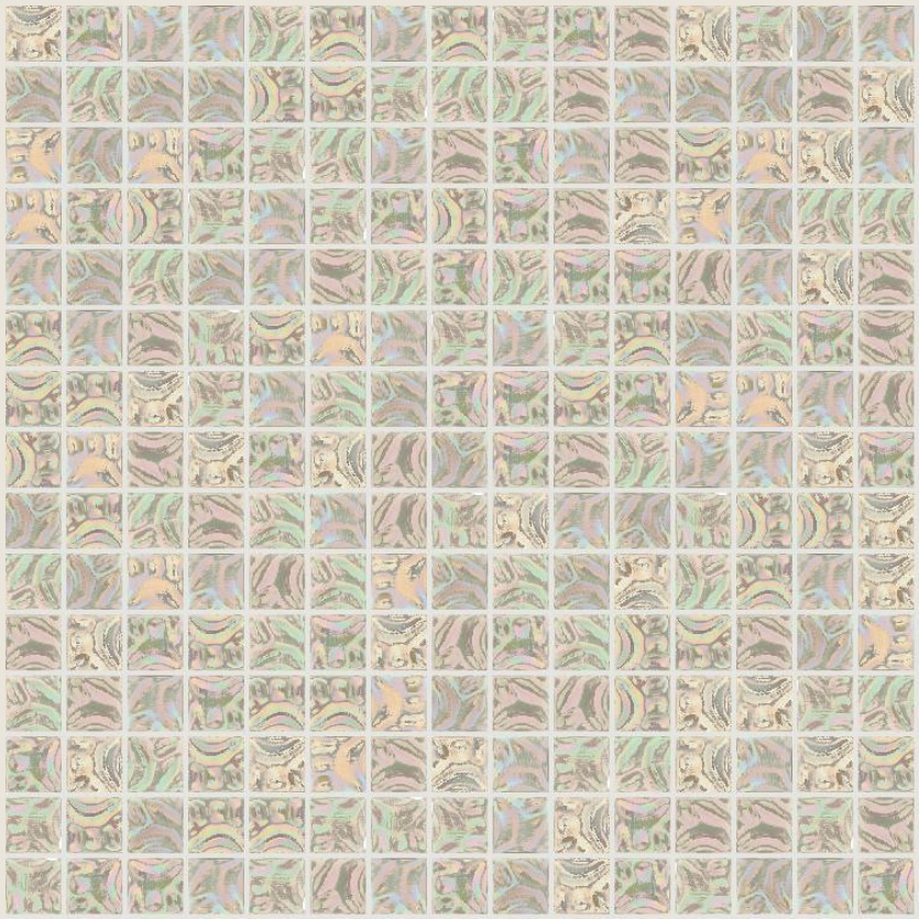 "Bisazza GW 12 Glow Glass Mosaic Tile 20mm - 3/4"", 1 sheet"