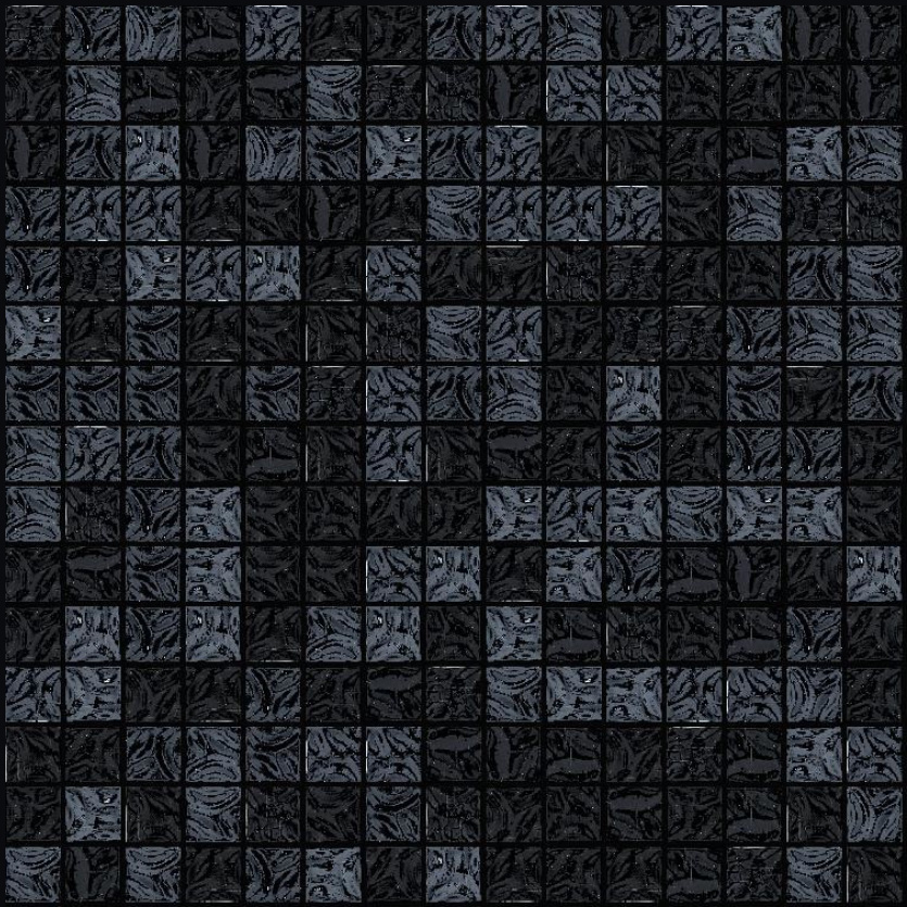 "Bisazza GW 13 Glow Glass Mosaic Tile 20mm - 3/4"", 1 sheet"