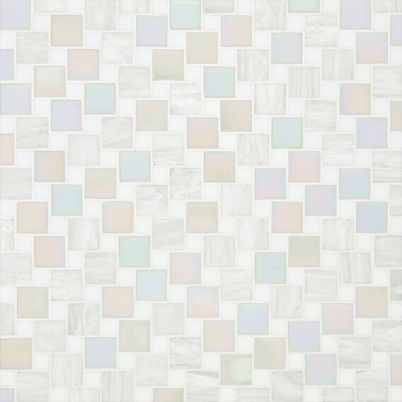 Bisazza Marzia Variations Blend of Glass Mosaic Tile 10 - 20 mm Combo, 10 sheets