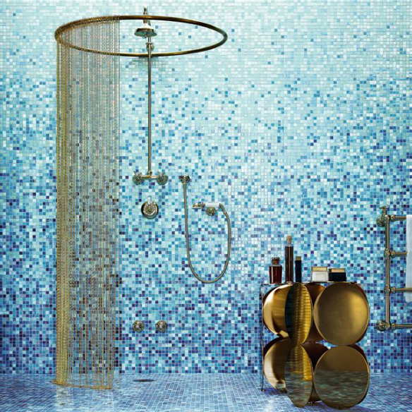 Bisazza Glass Mosaic Tile Gradients