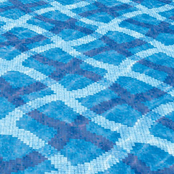 Bisazza Mirage Blue Swimming Pool Design