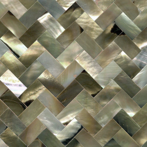 Brown Mother of Pearl Shell Tile