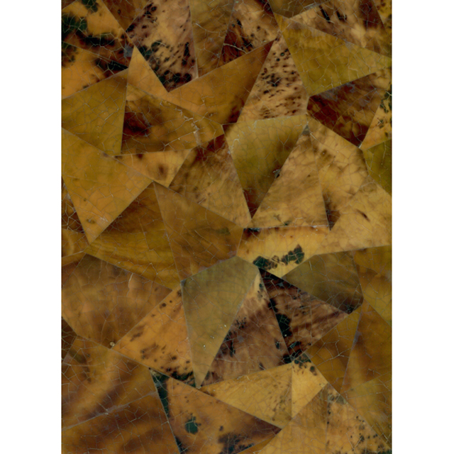 "Brown Tab Penshell Crackle Random Shell Tile, 12x12"", 1 Tile"