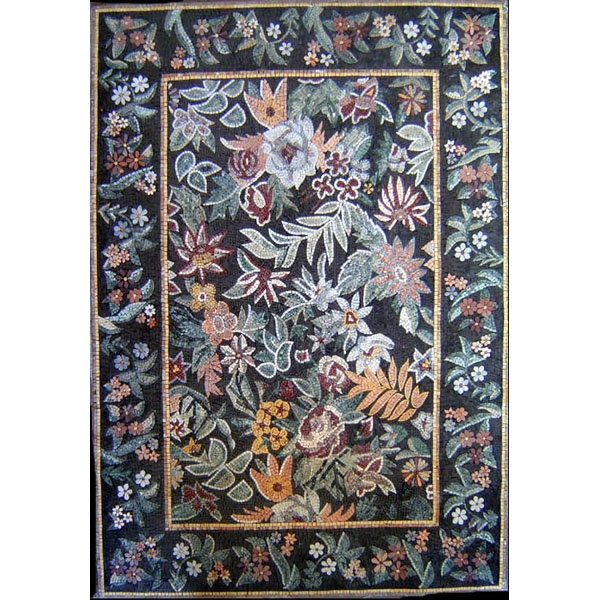 Floral Mosaic Rug Collection
