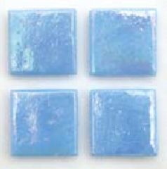 "Ciano Kolorines Metalica Glass Mosaic Tile, 2"" x 2"" - 50mm, 1 square foot"