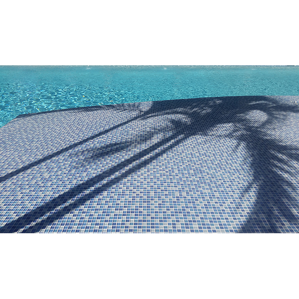 AIM Crystal Series Swimming Pool Deck Installation