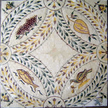 Old World Stone Mosaic Murals