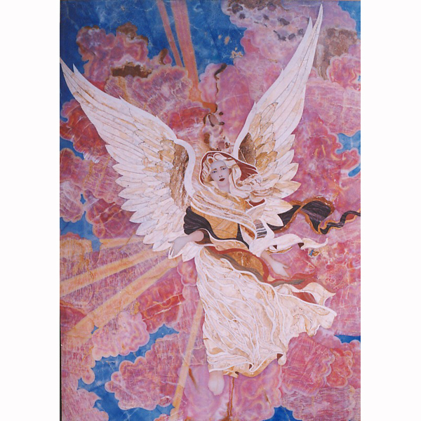 Angel Gem Mural 4' x 6', 1 piece