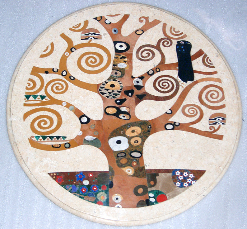 "Gustav Klimt Tree of Life 48"", 1 piece"