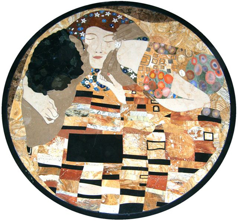 "Gustav Klimt The Kiss 48"", 1 piece"