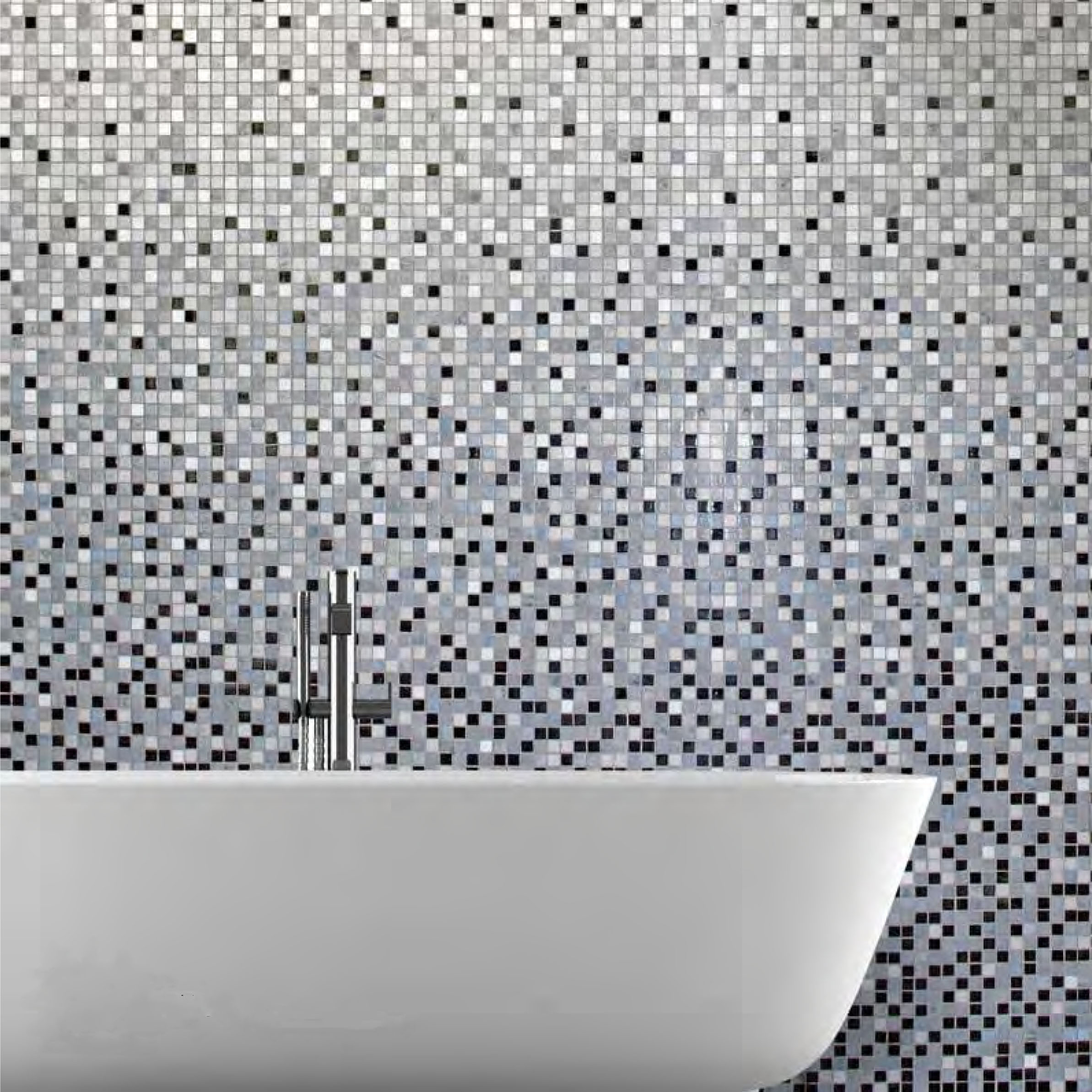 Kolorines Glass Mosaic Tile Gradients