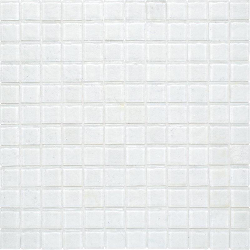 "Kolorines Lumina Lumen Glass Mosaic Tile, 1"" x 1"" - 25mm, 1 square foot"