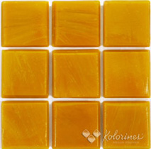 "Peach Kolorines Solar Glass Mosaic Tile, 2"" x 2"" - 50mm, 1 sheet"