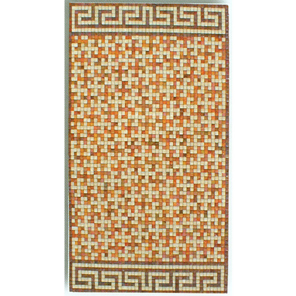 "Corrigadore Kolorines Glass Mosaic Carpet 3/4"" - 20mm, 1 piece 47"" x 79"""