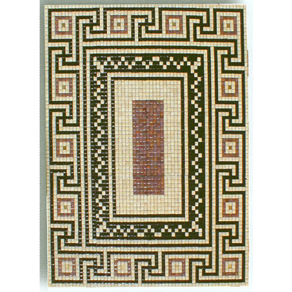 "Santorini Glass Mosaic Carpet 3/4"" - 20mm, 1 piece 59"" x 75"""