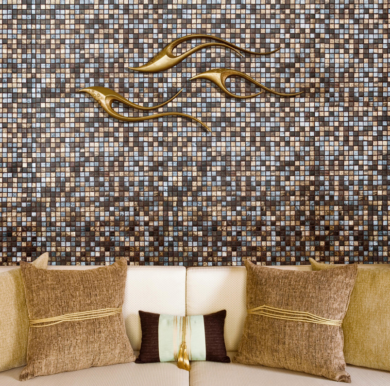 Mosai and Co Glass Mosaic Tile Blends