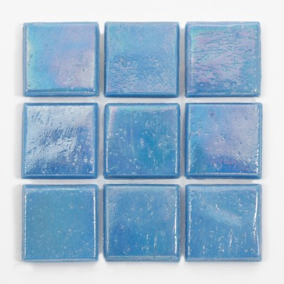"Mystic Kolorines Metalica Glass Mosaic Tile, 3/4"" x 3/4"" - 20mm, 1 square foot"