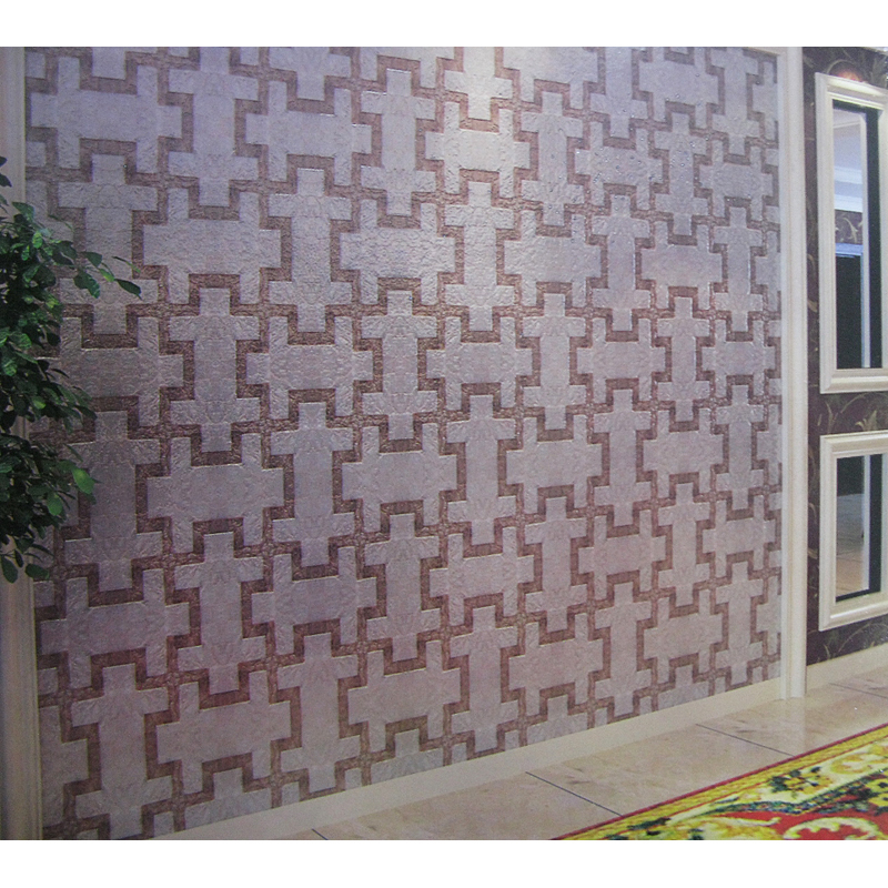 Niwa 2 Capiz Shell Tile Home Wall Installation