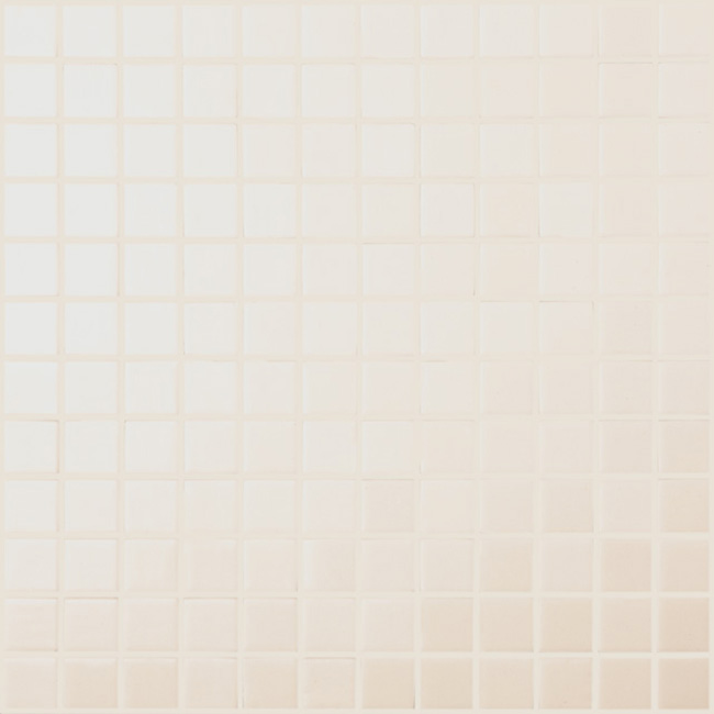 "White Matt #910 Vidrepur Nordic Glass Mosaic Tile, 1x1"", 1 sheet"