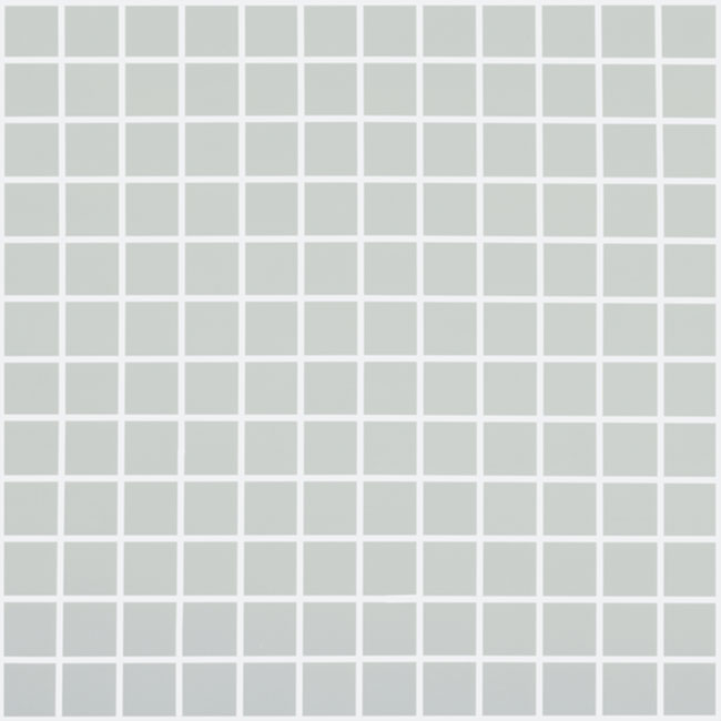 "Light Grey Matt #909 Vidrepur Nordic Glass Mosaic Tile, 1x1"", 1 sheet"