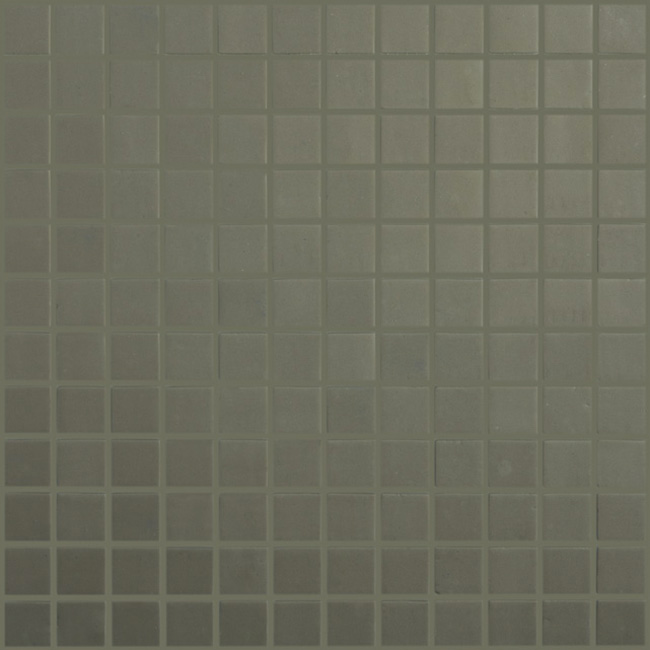 "Frappe Matt #926 Vidrepur Nordic Glass Mosaic Tile, 1x1"", 1 sheet"