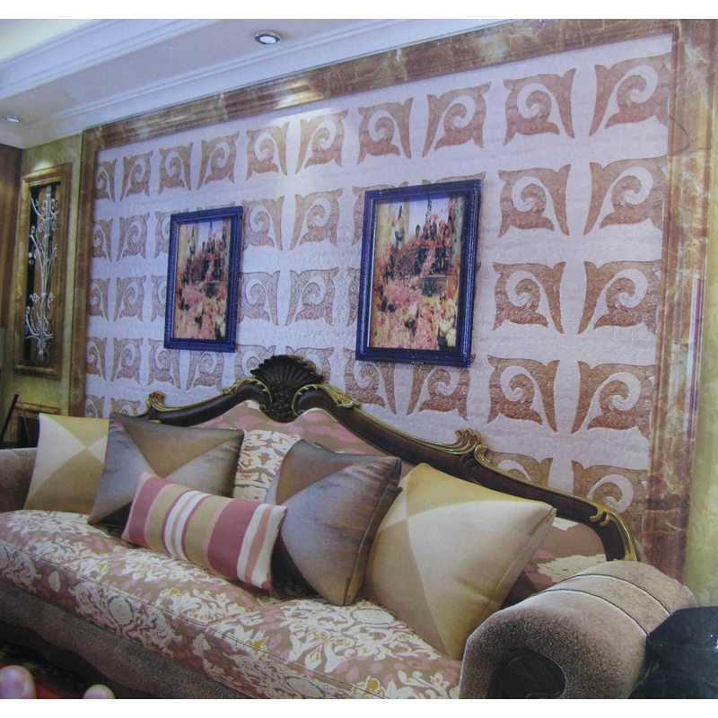 Obu 2 Capiz Shell Tile Home Wall Installation