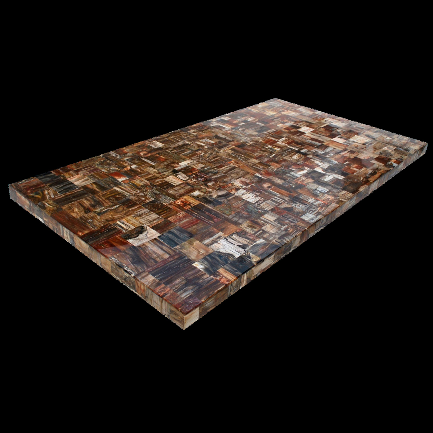 Genial Petrified Wood Retro Gemstone Tabletop, 4u0027 X 8u0027, 1 Piece. Click To Enlarge  · Petrified Wood Retro Gemstone Tabletop ...