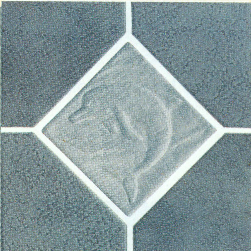"Fujiwa 6x6"" Deco Field Tile"