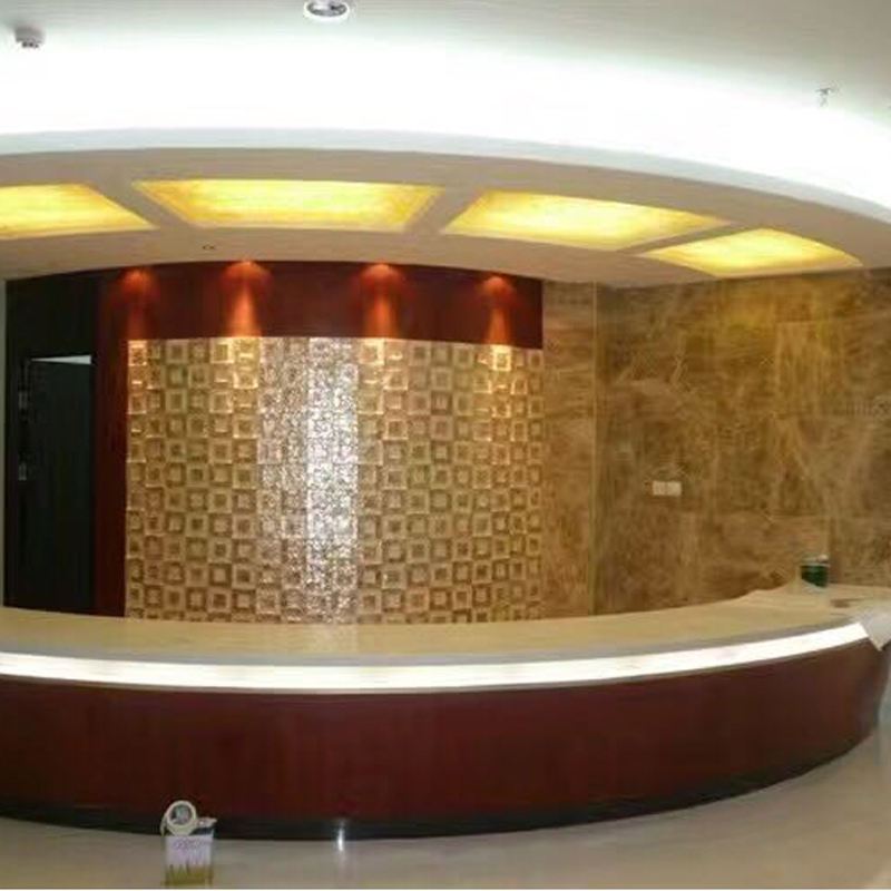 Capiz Shell Tile Installations
